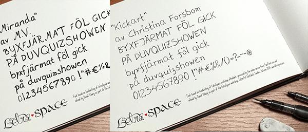 Letraspace_czcionka