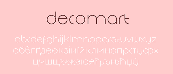 decomart_free_font
