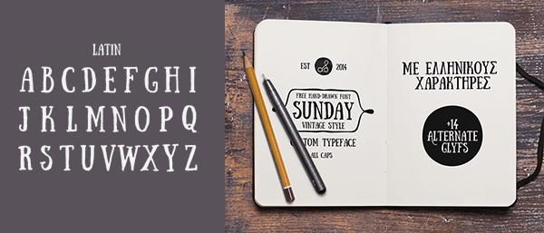 sunday_czcionka